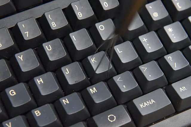 安全にキートップを外せる