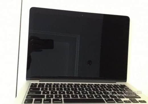 Retinaディスプレイ搭載のMacBook Pro13インチの流出写真?ディスプレイとキーボード