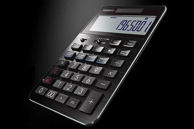 3万円の電卓が販売計画1.5倍の売れ行き!カシオの美しすぎる至高の高級電卓『S100』