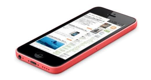 iPhone 5c レッドバージョン