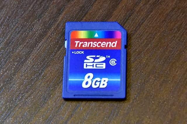 Transcend SDHC 8GB