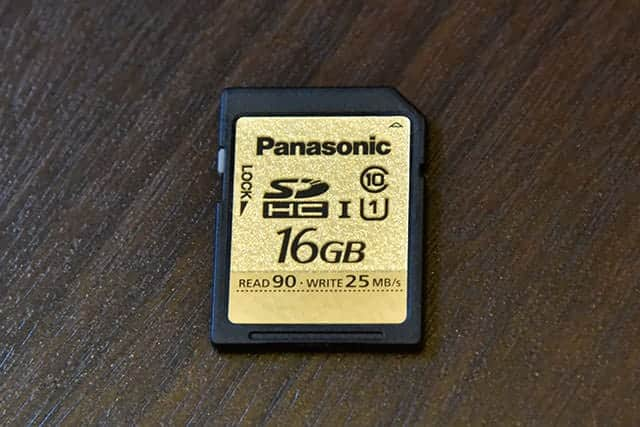 Panasonic 16GB SDHCカード