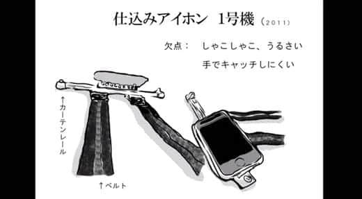 仕込みiPhone