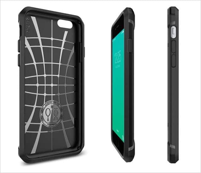 iPhone 6s / 6s Plus用ケース Spigen カプセル・ウルトラ・ラギッド
