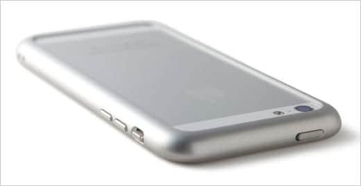 SQUAIR iPhone用ジェラルミンバンパー ホワイト