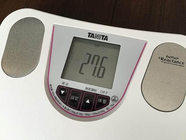 BMI表示