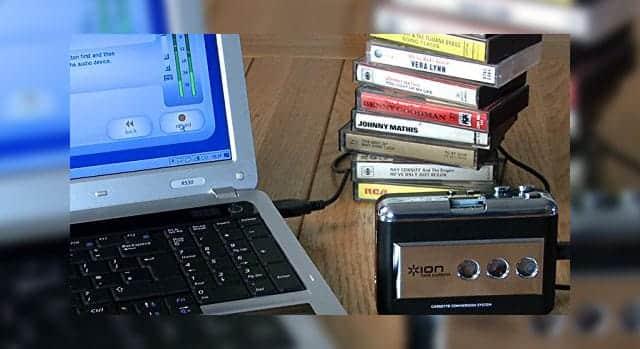 カセットテープのデータを簡単に取り出せる『TAPE EXPRESS』