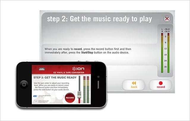Tape Express の専用アプリ