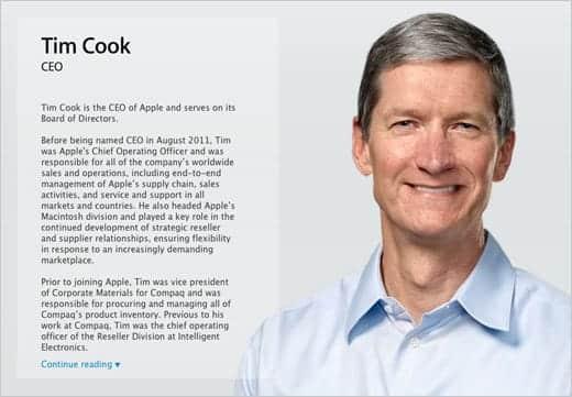 新CEOティム・クック氏