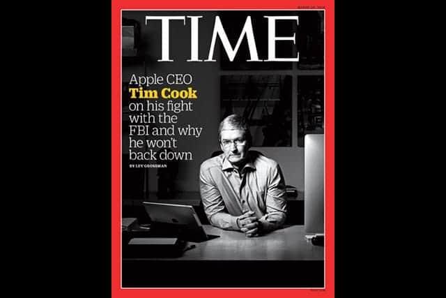 Appleは奇妙な立場-クックCEOのTIME誌インタビュー