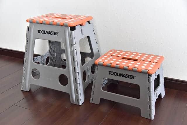 コストコで購入した踏み台 2つ1セット TOOLMASTER(ツールマスター)