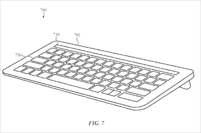 Touch Bar 技術が公開特許に