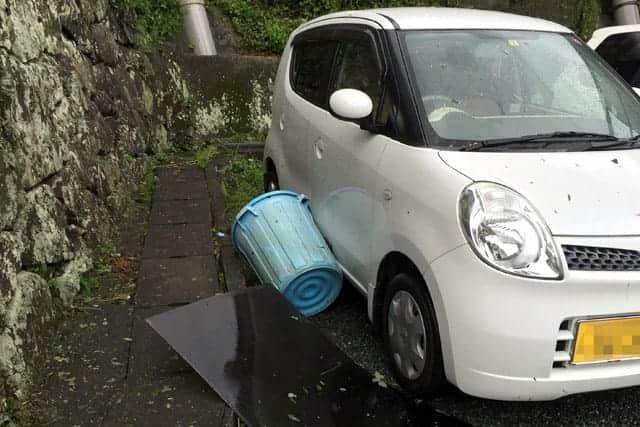 台風15号の被害