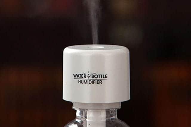 乾燥よさらば!簡単お手軽な卓上ペットボトル加湿器 USB対応でコンパクトだからデスクワークでも使える