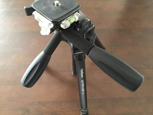ULTRA LUX i L 新品のハンドル棒を装着