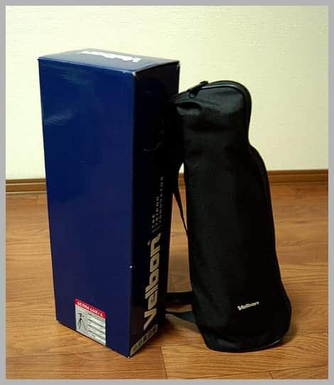 ベルボン ULTRA LUX i L 外箱とケース