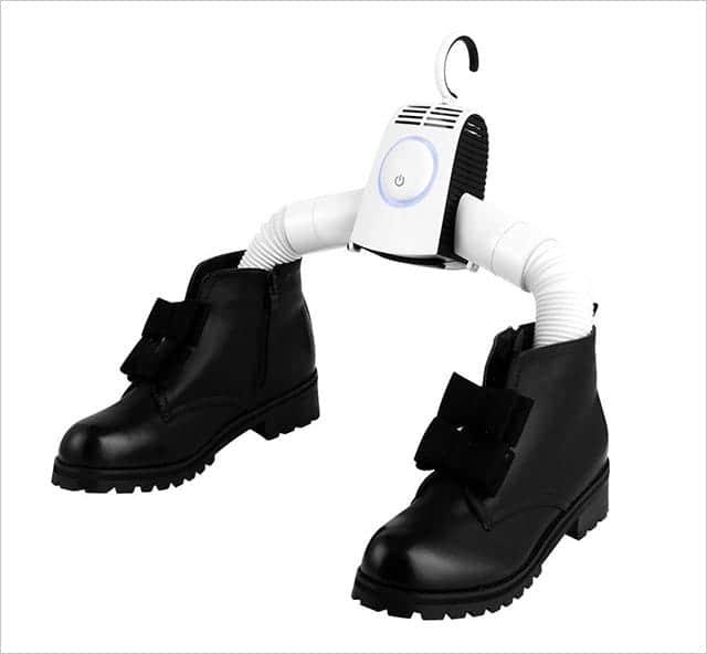 シューズ用エアーダクト付き 靴も簡単に乾かせる