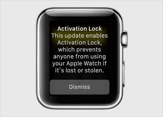 Apple Watch アクティベーションロック