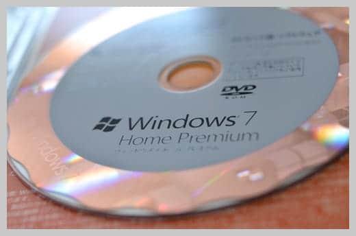Windows 7 Home Premium DVD
