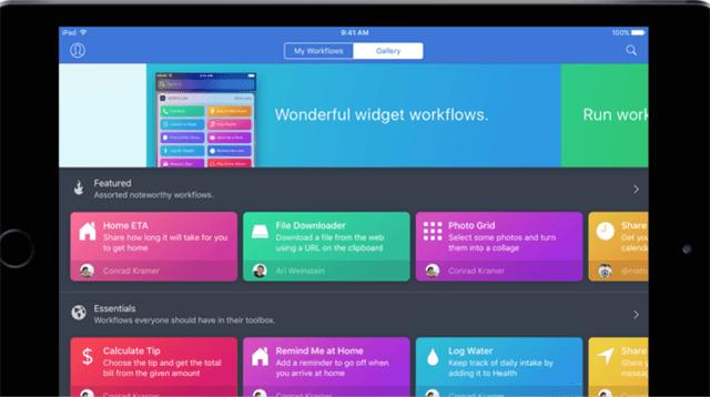 iOS向けタスク自動化アプリWorkflowを買収&無料化