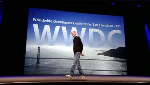 WWDC2011 スティーブ・ジョブズ基調講演