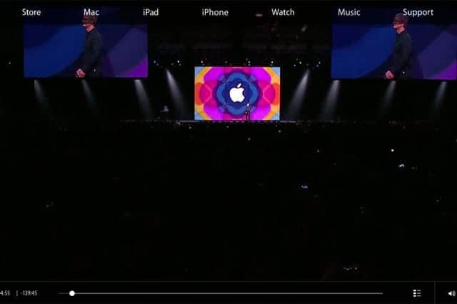 WWDC2015 キーノートが公開