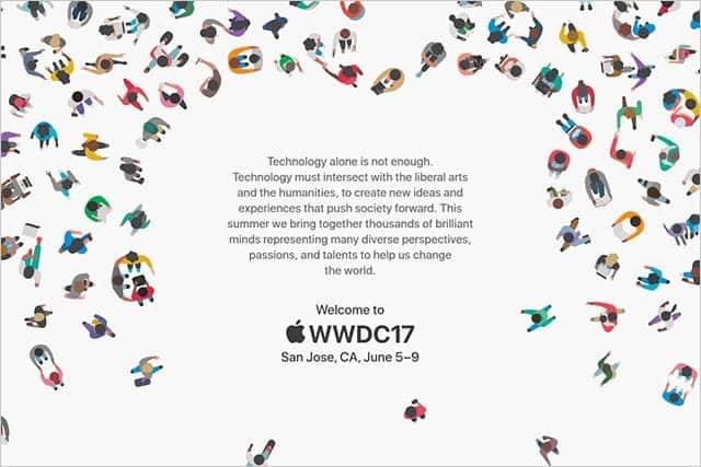 WWDC 2017が6月5日~9日に開催