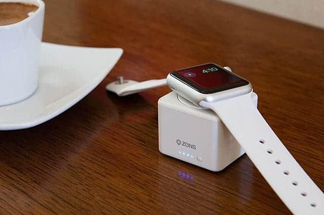 可愛いデザインのApple Watch専用モバイルバッテリー