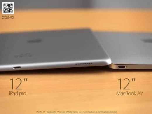 12インチMacBook Air とiPad Pro