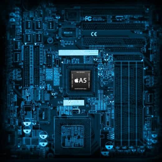 A5チップのカッコイイiPadとiPhone用壁紙