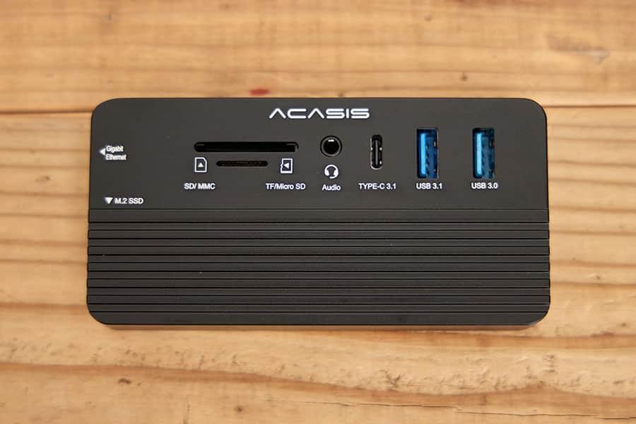 ACASIS多機能ハブの本体