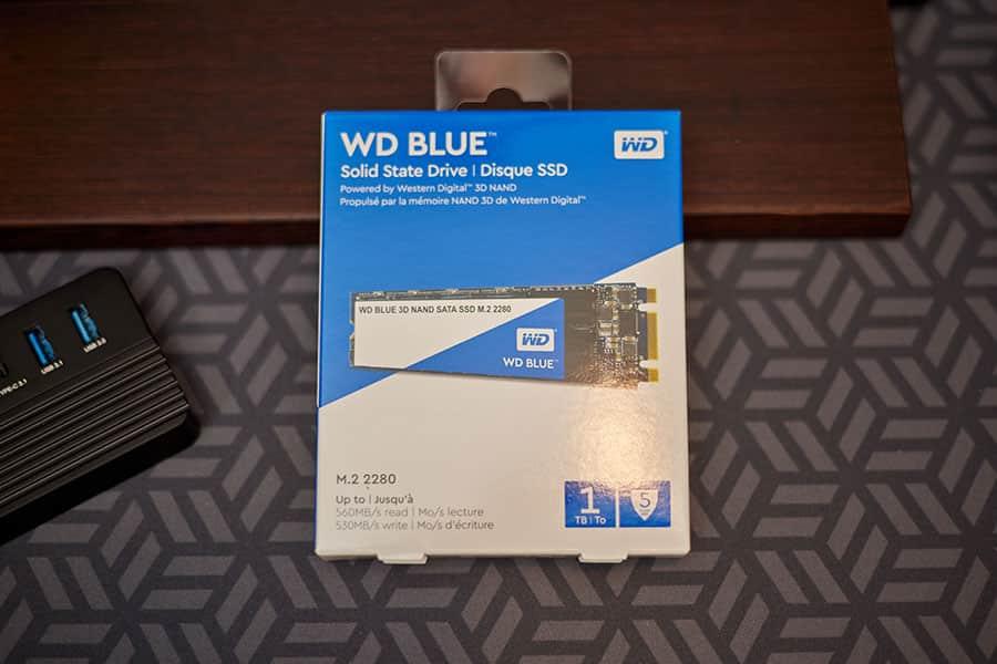 ウエスタンデジタル 内蔵SSD 1TB WD Blue PC M.2-2280 SATA WDS100T2B0B-EC