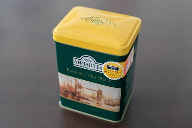 AHMAD TEA(アーマッドティー) イングリッシュティーNo.1 200g