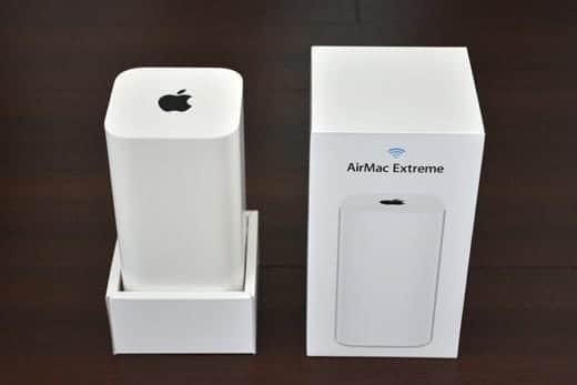 AirMac Extreme 箱オープン