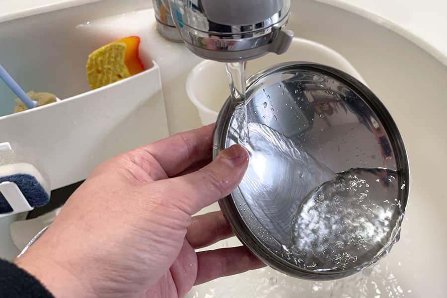 台所の水仕事も問題なし