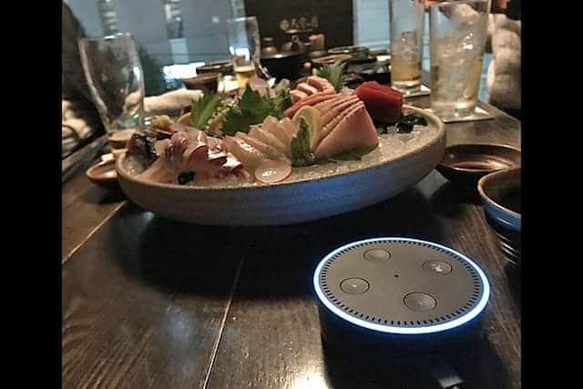Alexaが居酒屋で御用聞き