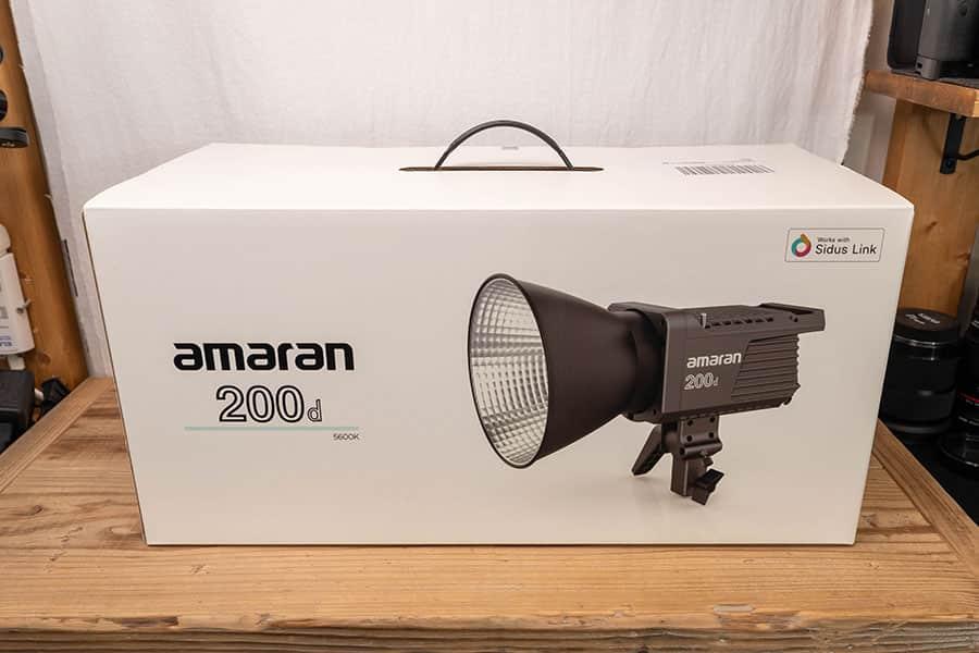 Amaran 200D パッケージ