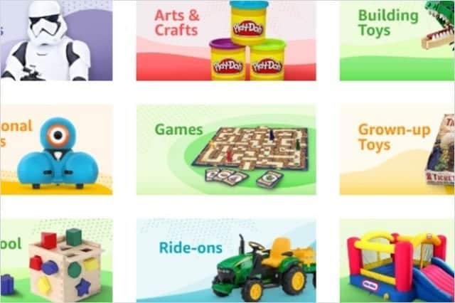 Amazon おもちゃカタログを商機に?