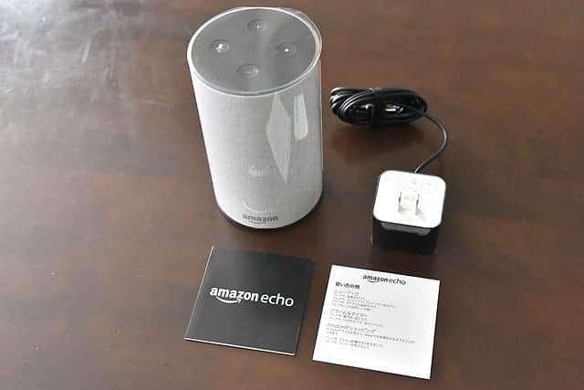 Amazon Echo 内包物一覧
