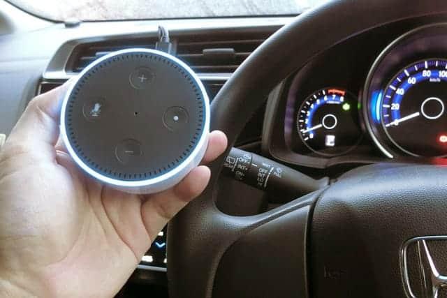 Amazon Echo Dotを車に置いたら便利?