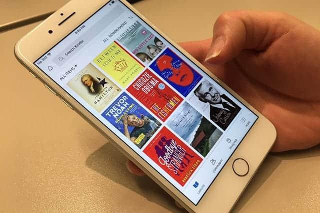 Kindleアプリ、大幅アップデート
