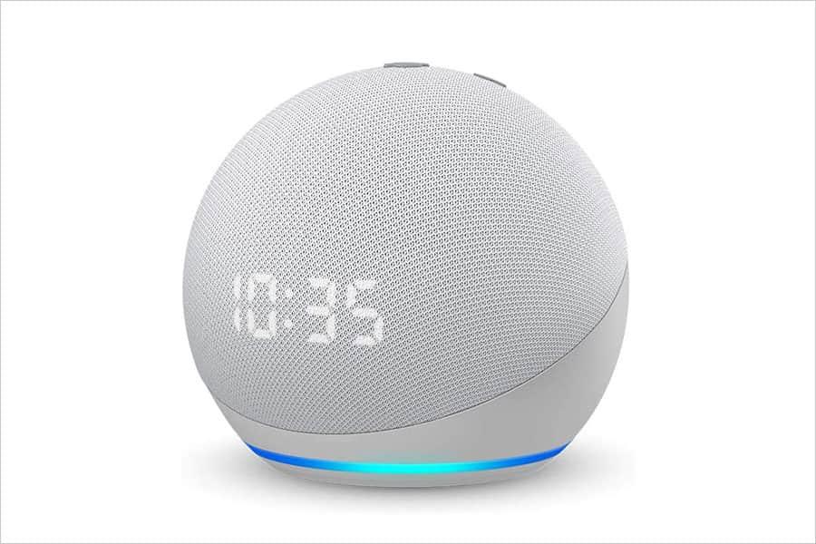 第四世代 時計付きEcho Dot