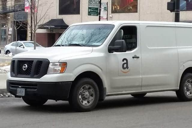 荷物の現在位置を地図で確認できるサービスを米国で開始
