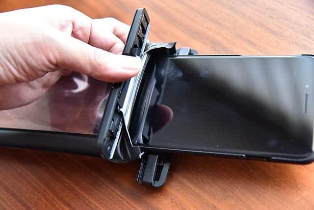 iPhone 7 Plusを入れた状態