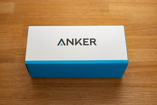 Ankerの超大容量モバイルバッテリーのパッケージ