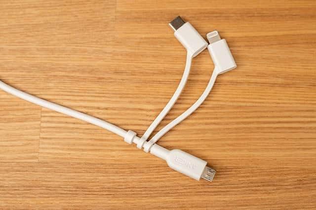 3つを1つに!AnkerのUSB/USB-C/Micro USB端子が1本にまとまったケーブル購入