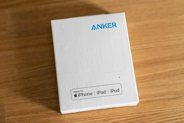 Anker PowerLine II 3-in-1 ケーブル レビュー