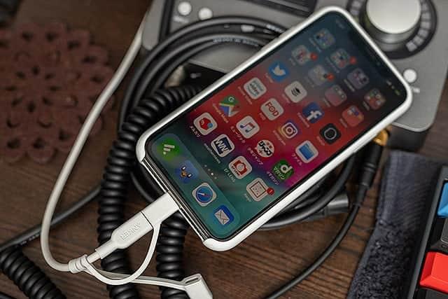 MacにiPhone Xを接続