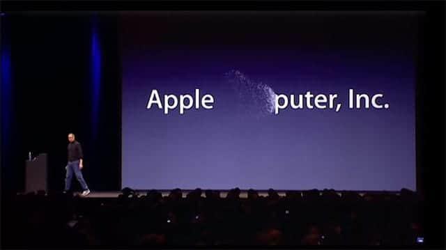Apple 社名変更