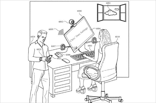 ユーザーを顔認識して好みのPC操作環境へ自動変更する特許申請